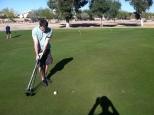 I'm not sure Shaun understands golf.