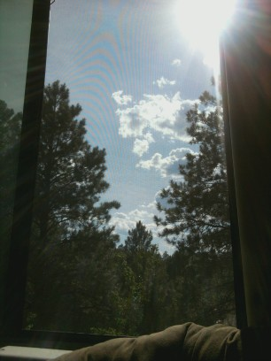 A view from the ATB studio in Flagstaff