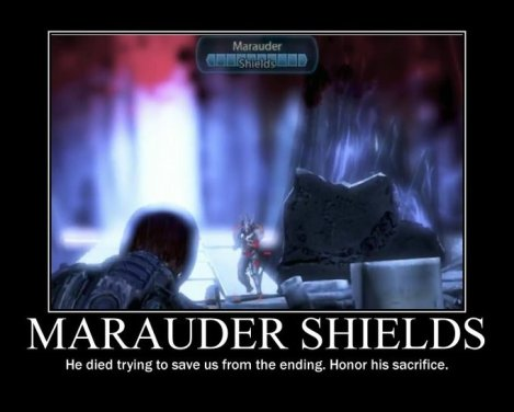Marauder Shields did his best.