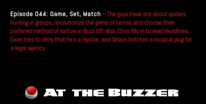 At the Buzzer (05/17/12)