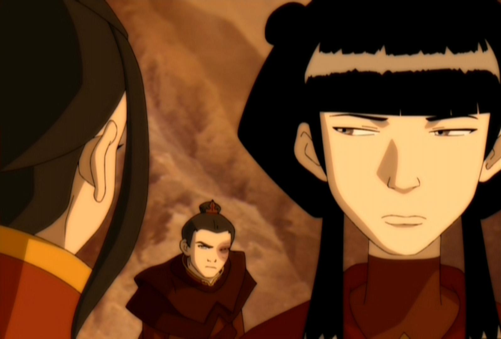 Avatar Azula Mai Ty Lee avatar, relationships done right pt. 2: mai & zuko