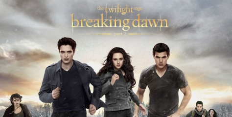 The Christmas Leprechaun loves Twilight. Go figure.