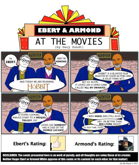 "Ebert & Armond review Peter Jackson's ""The Hobbit: An Unexpected Journey!"""