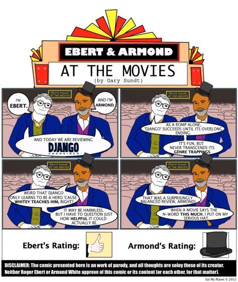 "Ebert & Armond review Quentin Tarantino's ""Django Unchained""!"