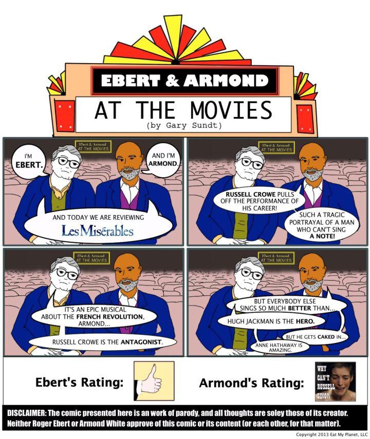 """Ebert & Armond review Tom Hooper's """"Les Misérables""""!"""