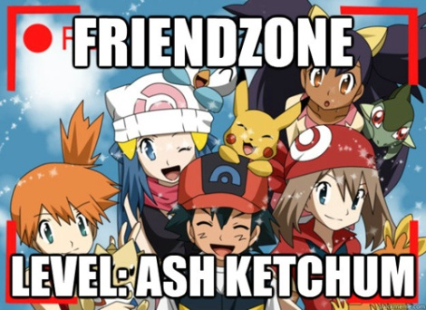 Silly Ash! You can't win at Pokemon OR at love!