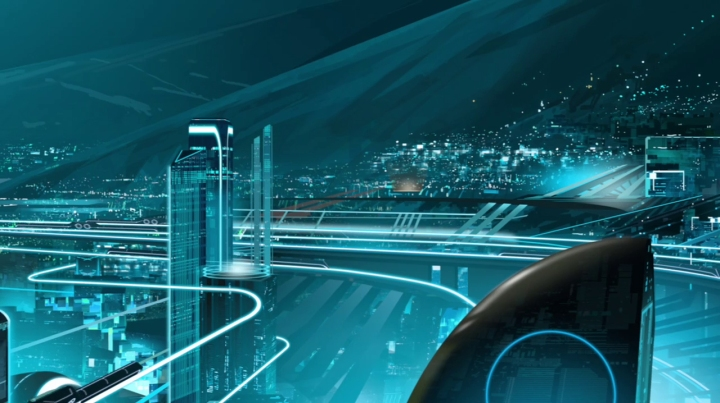 The world of Tron Uprising Disney XD-03