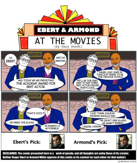 OSCARS 2013 — BEST ACTOR: Predicted by Ebert & Armond
