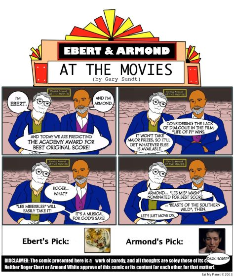 Ebert & Armond predict this year's winner for Best Original Score.