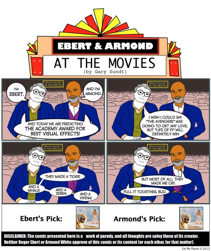Ebert & Armond predict this year's winner for Best Visual Effects.