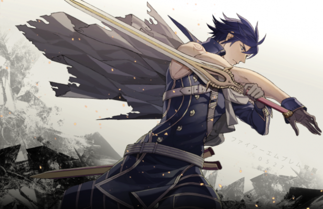 See how handsome Chrom is? Well too bad, because my female avatar married the hell out of him. Hands off.
