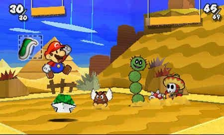 Multiple enemies always line up. You'd think they'd learn after the first few green shells to the face, but no, they do not.