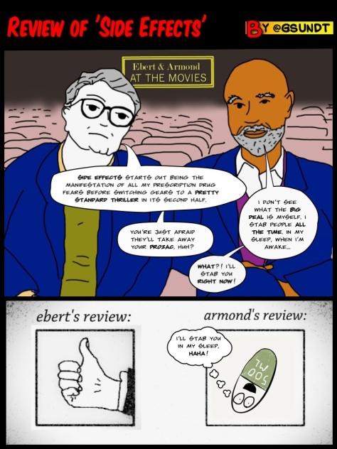 Ebert & Armond review Steven Soderbergh's 'Side Effects'.