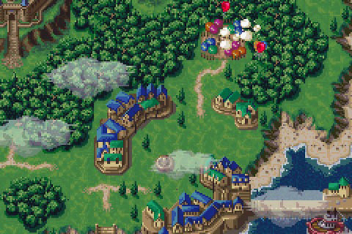 Even the overworld looks great.