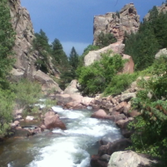 Colorado's Eldorado Canyon State Park offers stunning views and a multitude of activities less than 45 minutes from Denver. (Chris Etling/Arizona Daily Sun)