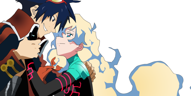 Nia and Simon – The Best Part of Gurren Lagann | At the Buzzer