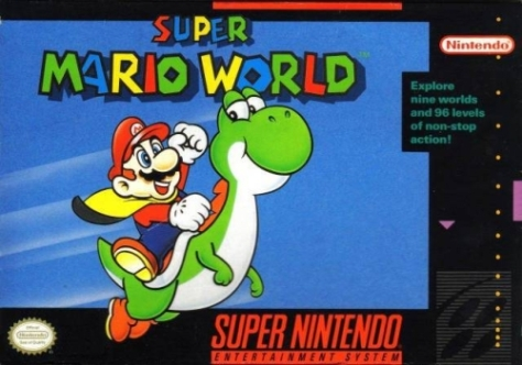 What makes cover art great? Is it Mario's determination, or Yoshi's...uh...