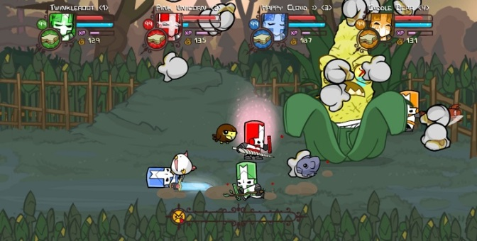 Checkpoint: Castle Crashers