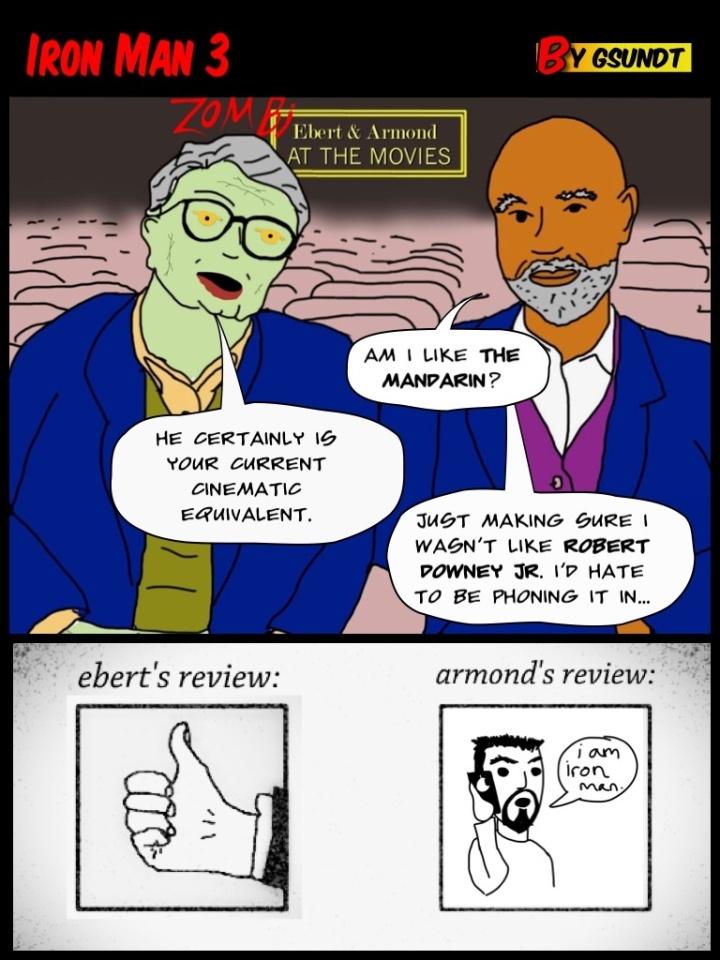 "Zombiebert & Armond review Shane Black's ""Iron Man 3"""