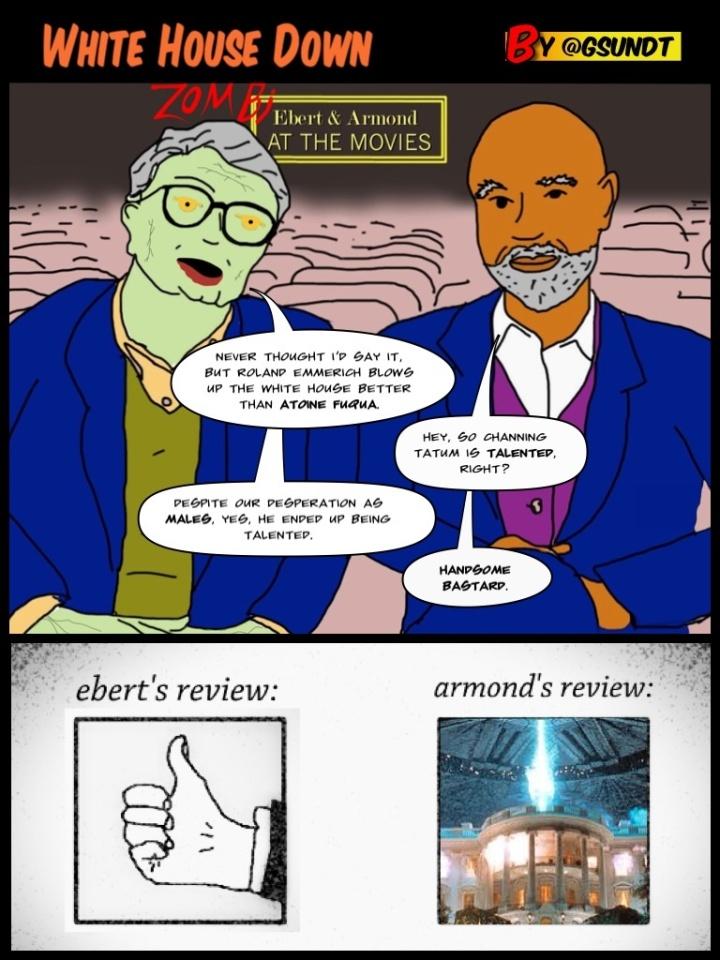 Ebert & Armond review White House Down!