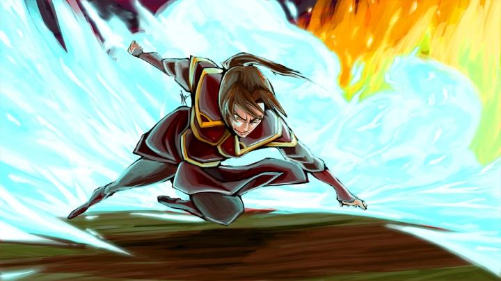 Agni Kai Azula by thefenrir
