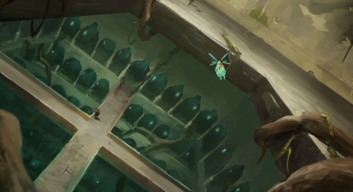 And flying spirit bunnies! Wait, this place looks familiar...