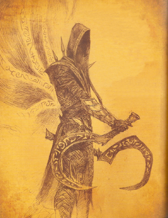 Malthael as depicted in The Book of Cain.