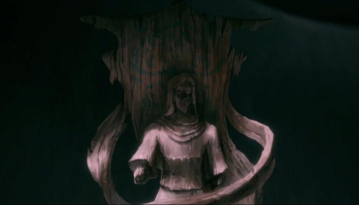 Dark Avatar Statue
