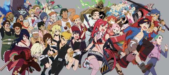Gurren Lagann cast 1 - Copy