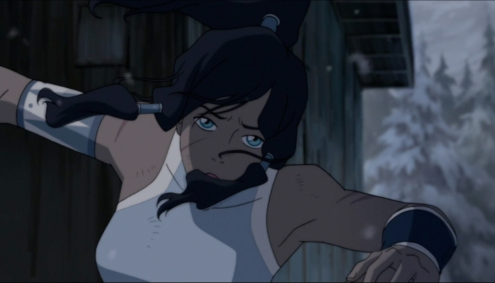 ...only for Korra to escape by the skin of her teeth.