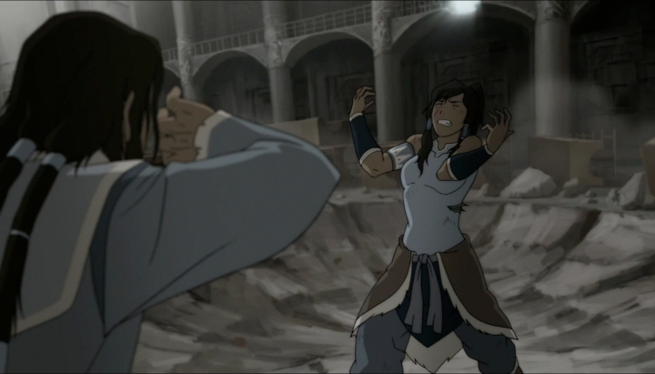 ...that Tarrlok is a Bloodbender...