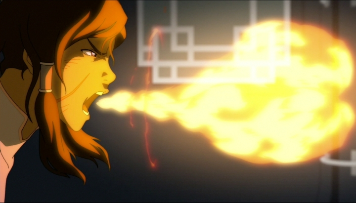 ...and that Korra is in trouble.