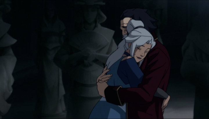 """Thanks Kya. You always know when I need a hug."""