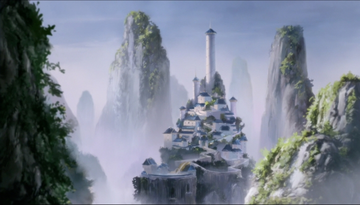 Another beautiful view of the Southern Air Temple