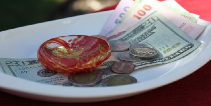 Why do we tip in restaurants?