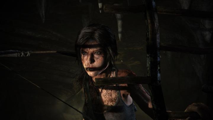 Lara sneaks up on her prey...
