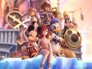 Kingdom Hearts 2 CG poster