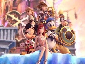 Kingdom Hearts 2 CG poster