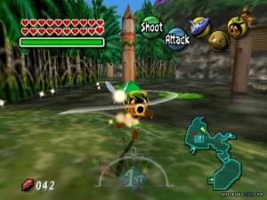 Majora's Mask forest screenshot