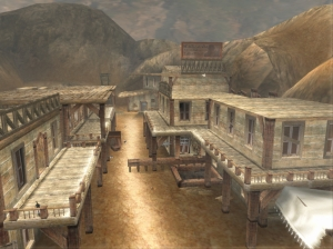 The old-Western style shootout at the Hidden Village is still the best part of the game though.