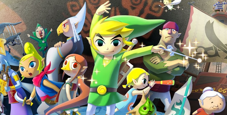 Wind Waker HD promotional picture cover pic