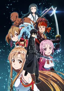Sword Art Online cast picture
