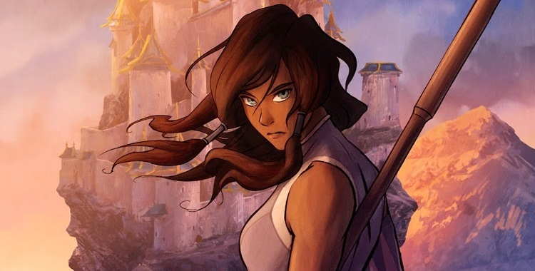 The Legend of Korra Book Three Change cover pic