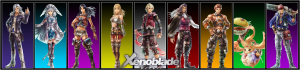 Xenoblade Chronicles cast