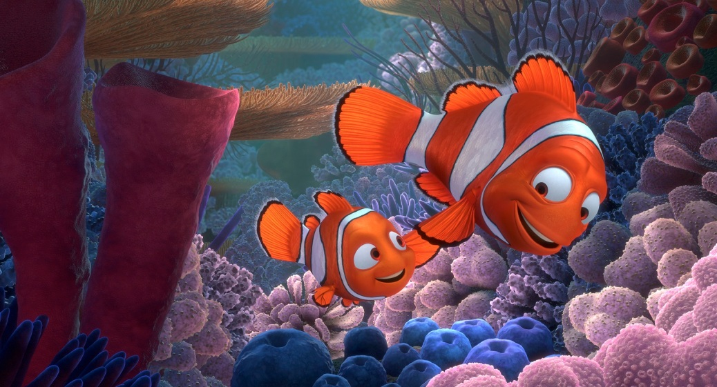 """""""FINDING NEMO 3D"""" (L-R) NEMO and MARLIN. ©2012 Disney/Pixar. All Rights Reserved."""