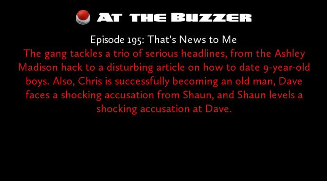 At the Buzzer (09/03/15)