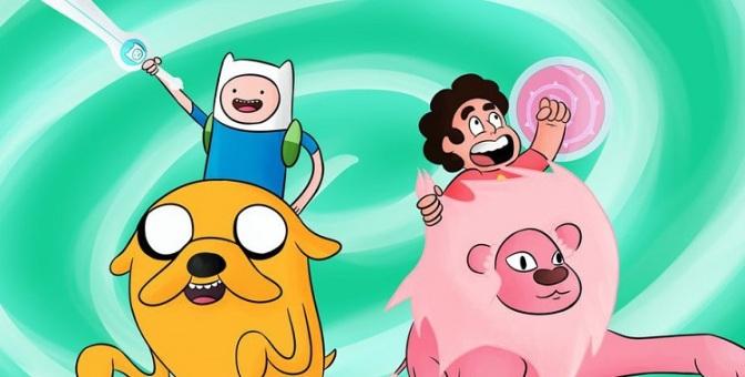 Adventure Time vs Steven Universe