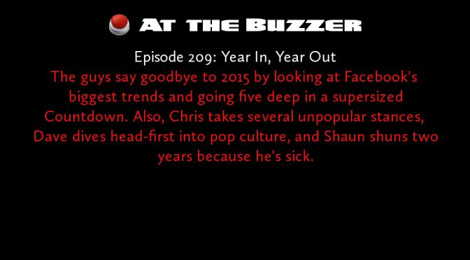 At the Buzzer (12/31/15)