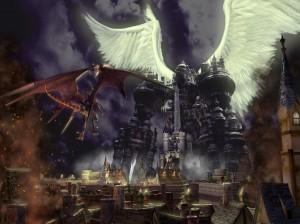 Final Fantasy IX Alexander vs Bahamut