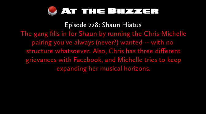 At the Buzzer (05/12/16)